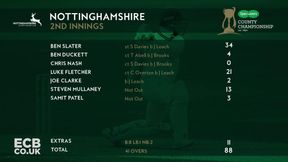 Highlights- Nottinghamshire v Somerset Day 3