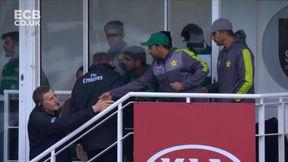 Umpire Decision: Match Abandoned