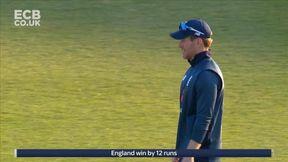 England Win by 12 Runs