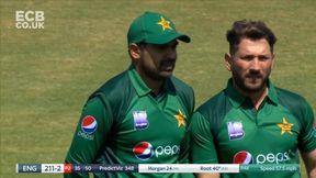 Root Caught for 40 - c Sohail b Yasir