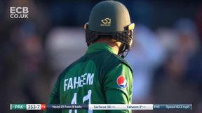 Faheem Ashraf Out for 3 - c Stokes b Plunkett