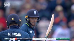 Buttler Reaches 50 with Brilliant Shot