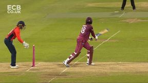 Sarah Taylor stumps Chinelle Henry