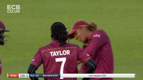 Nat Sciver bowled by Hayley Matthews for 31