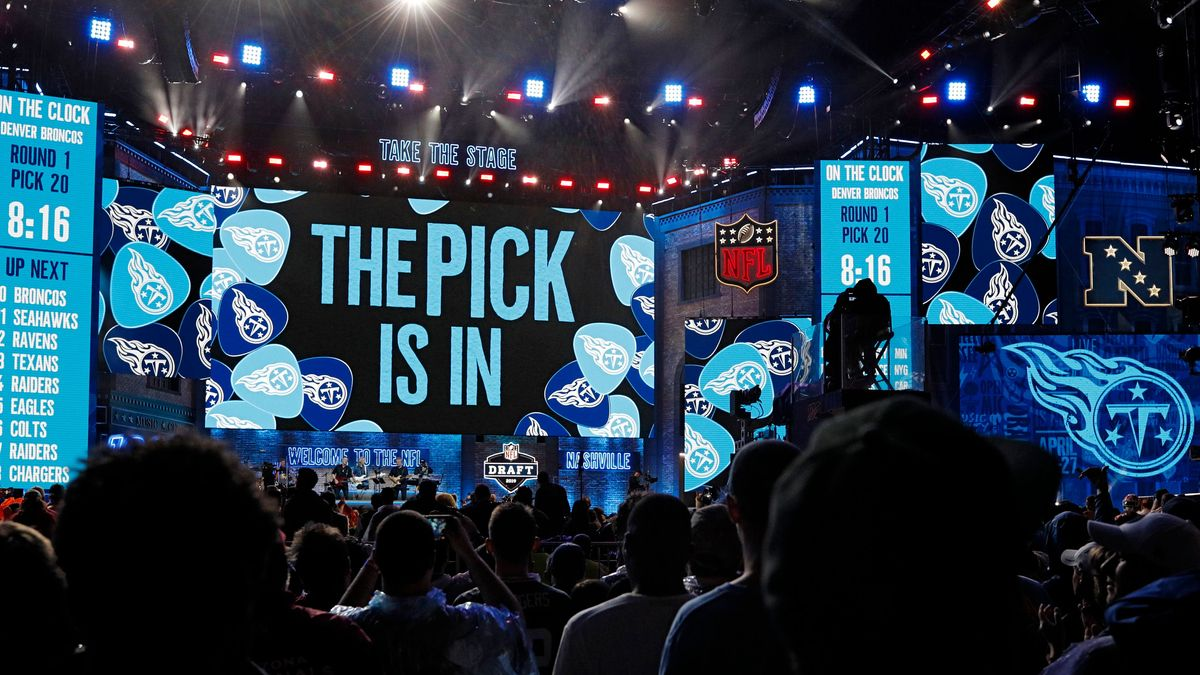 The NFL Draft (pictured) is an incredible spectacle. Now The Hundred brings the Draft to this country.