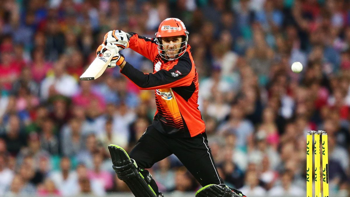 Katich won the Big Bash with Perth Scorchers in 2014