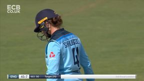 Anya Shrubsole out b Ellyse Perry