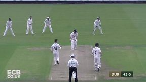 Highlights- Durham v Worcestershire Day 1