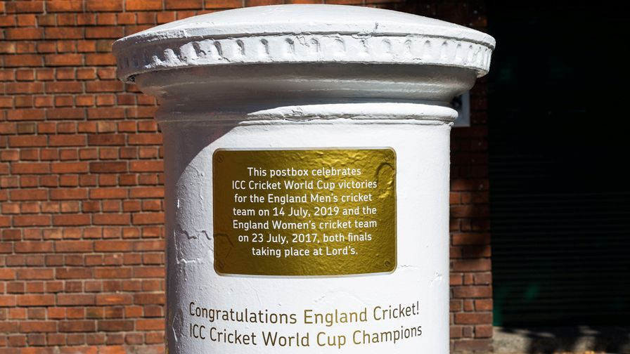 Royal Mail celebrate England Cricket's historic World Cup win