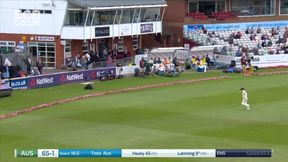 Meg Lanning  gets her innings moving with a 4 off Sciver.