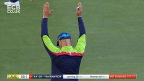 Lanning hits Ecclestone for 6