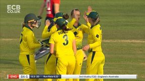 Amy Jones c Alyssa Healy b Ashleigh Gardner
