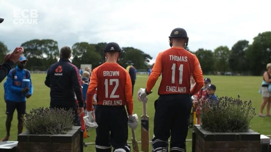 England's Physical Disability cricketers reflect on a memorable World Series
