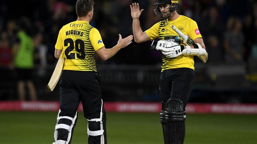 Gloucestershire keep Vitality Blast knockout hopes alive with Hants win