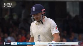 England are all out as Bairstow is caught in the deep