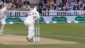 Denly falls to a  smart return catch from Siddle