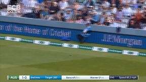 Warner gets the chase going for Australia