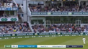 Marnus Labuschagne cuts Woakes for 4