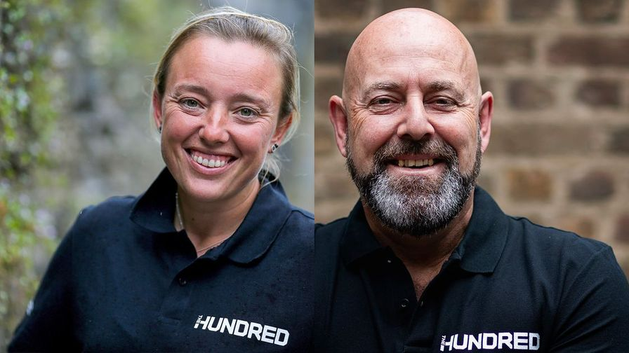 |Hazell and Lehmann| sign up for the Hundred
