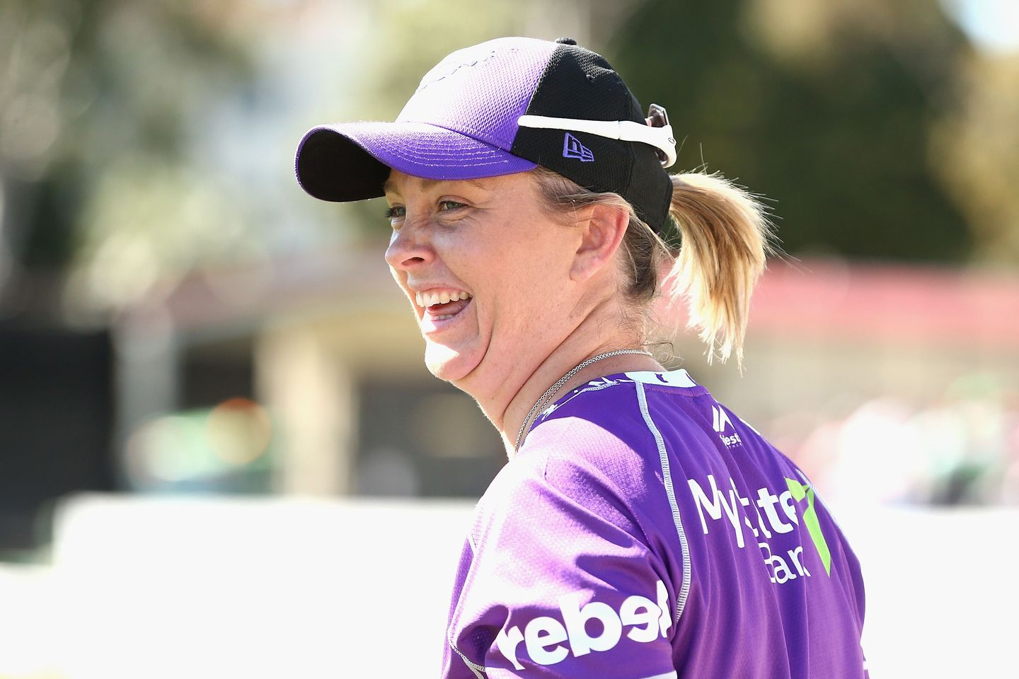 Briggs has coached Hobart Hurricanes in the Women's Big Bash League.