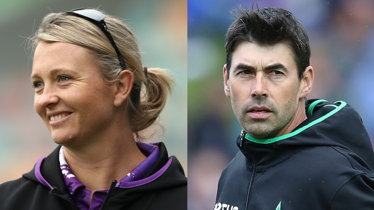 Salliann Briggs and Stephen Fleming named as Head Coaches for the Trent Rocket teams.