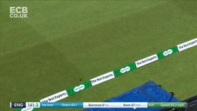 Jonny Bairstow punches a boundary down the ground