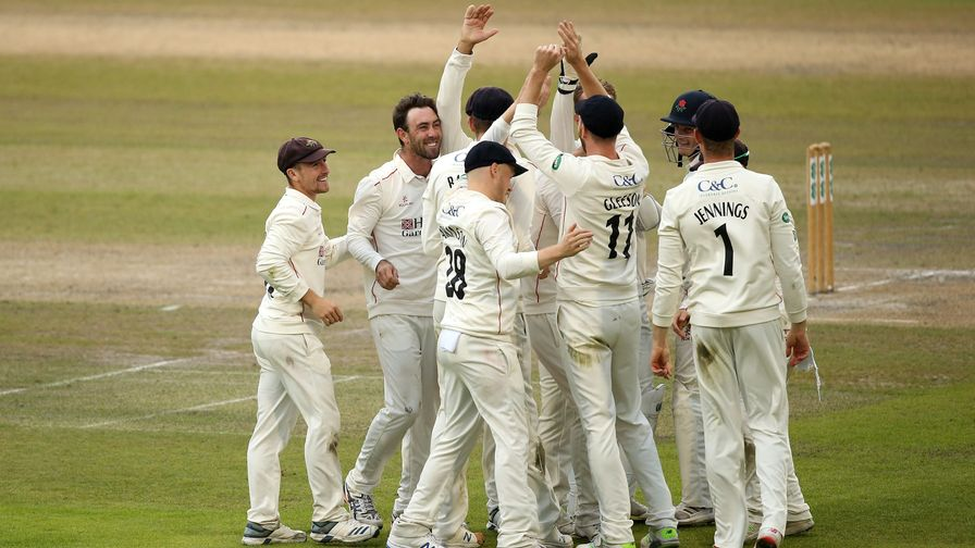 Lancashire go up while Somerset take top spot