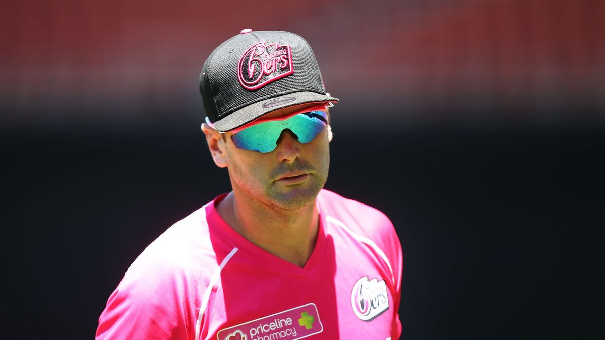 Ben Sawyer has been coach of Sydney Sixers in the Women's Big Bash League for four years.