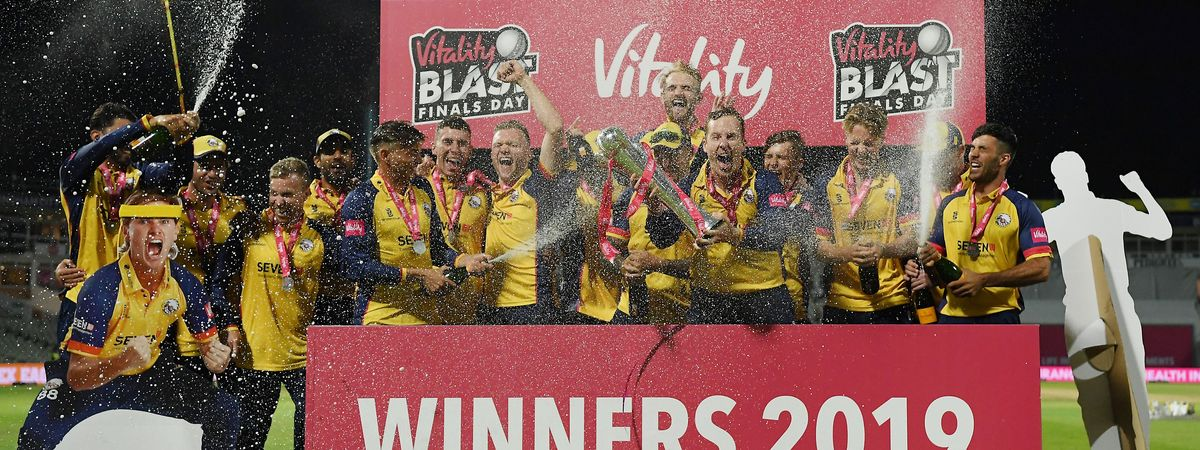 Essex Eagles win the Vitality Blast 2019