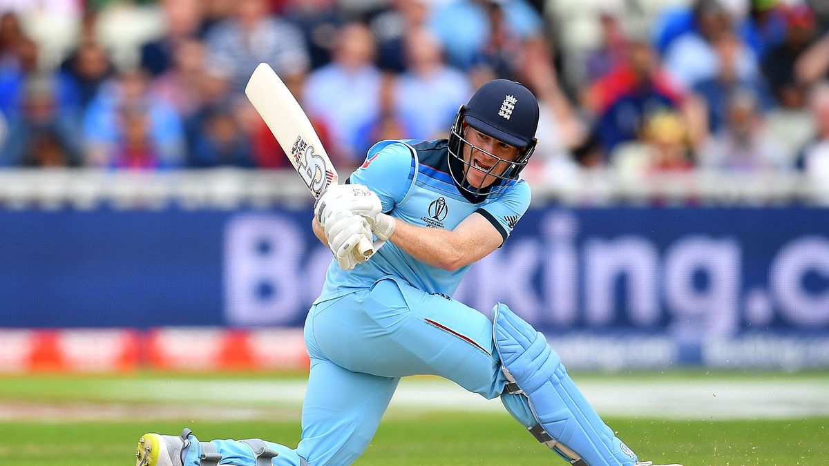 England's World Cup winning captain Eoin Morgan. Will he be picked up as local icon or picked in The Hundred Draft?