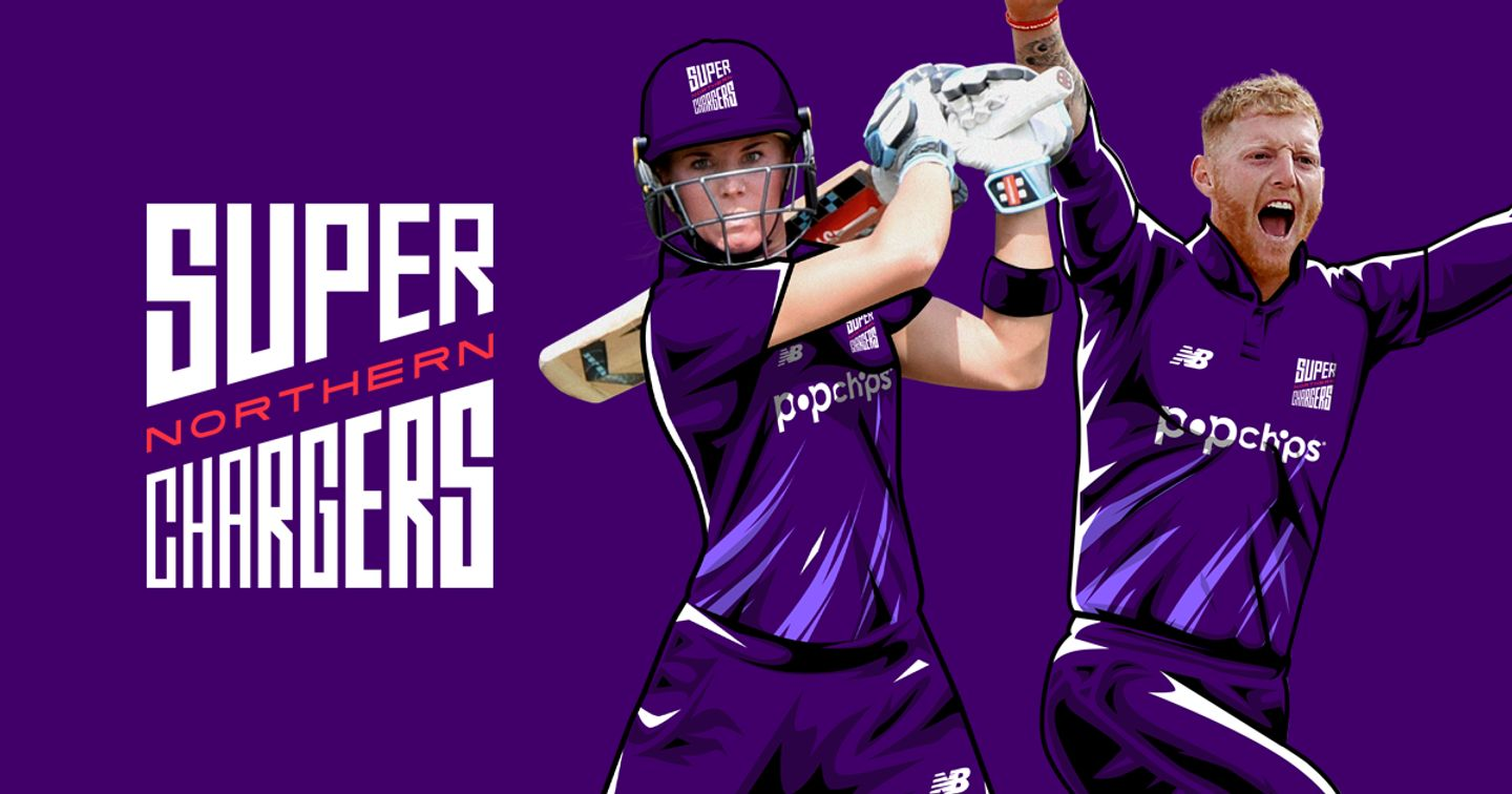 Lauren Winfield and Ben Stokes will play for the Northern Superchargers