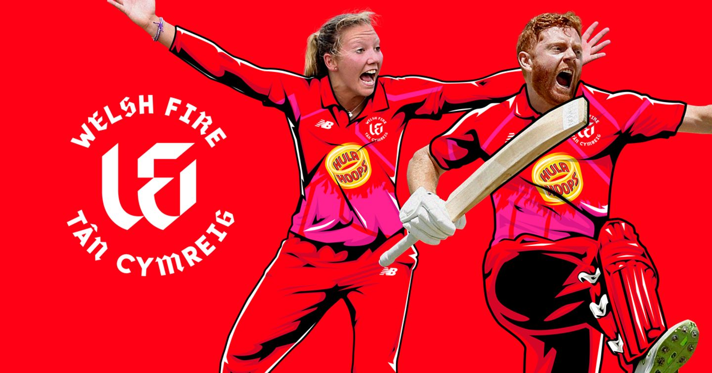 Katie George and Jonny Bairstow will play at the Welsh Fire