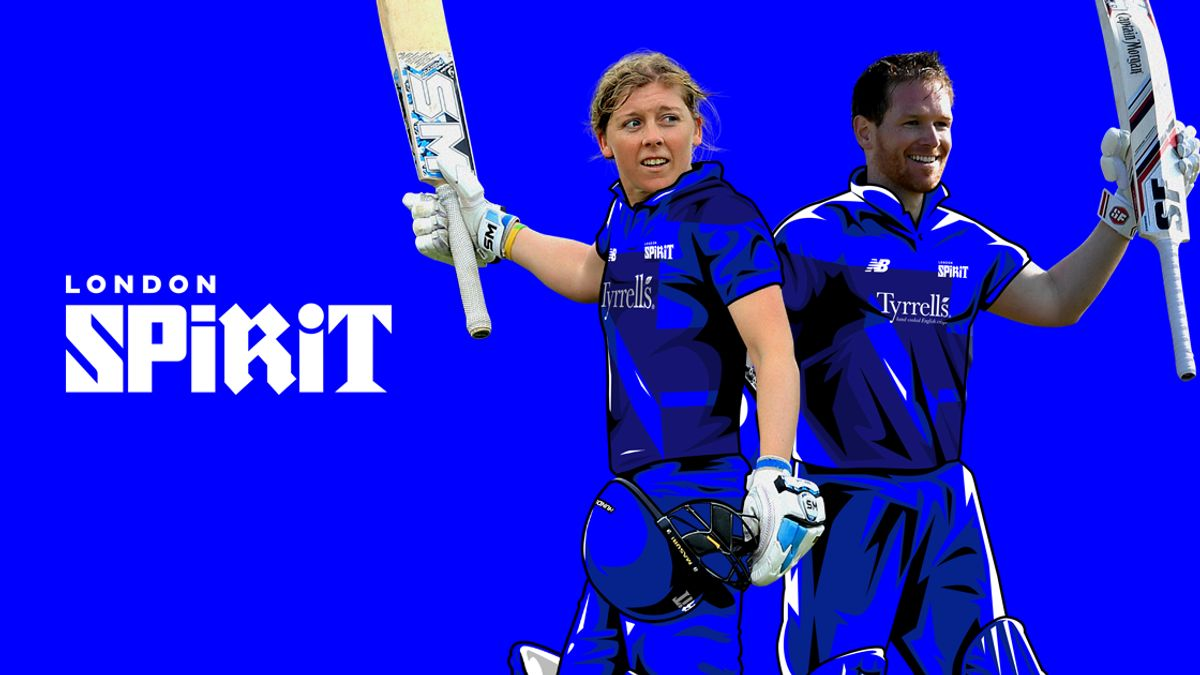 England captains, Heather Knight and Eoin Morgan will play for the London Spirit