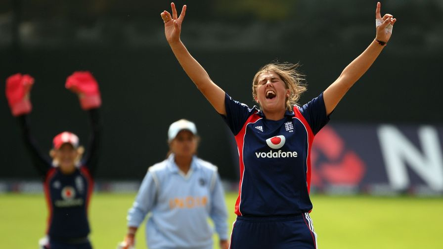 Howzat!? With bat and with ball Gunn was a consistent match winner for England