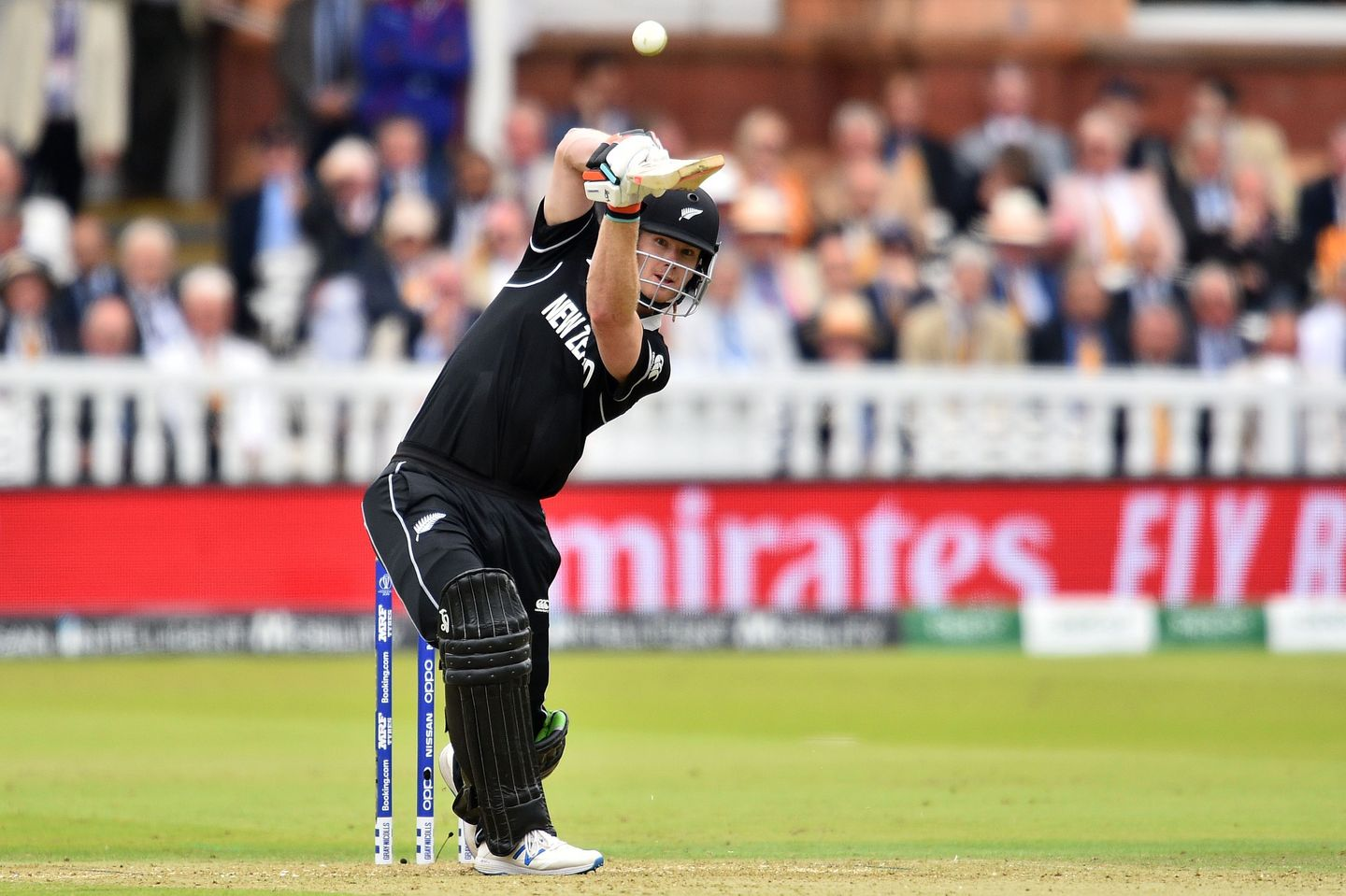 New Zealand's Jimmy Neesham in the World Cup. He has put himself in for The Hundred Draft