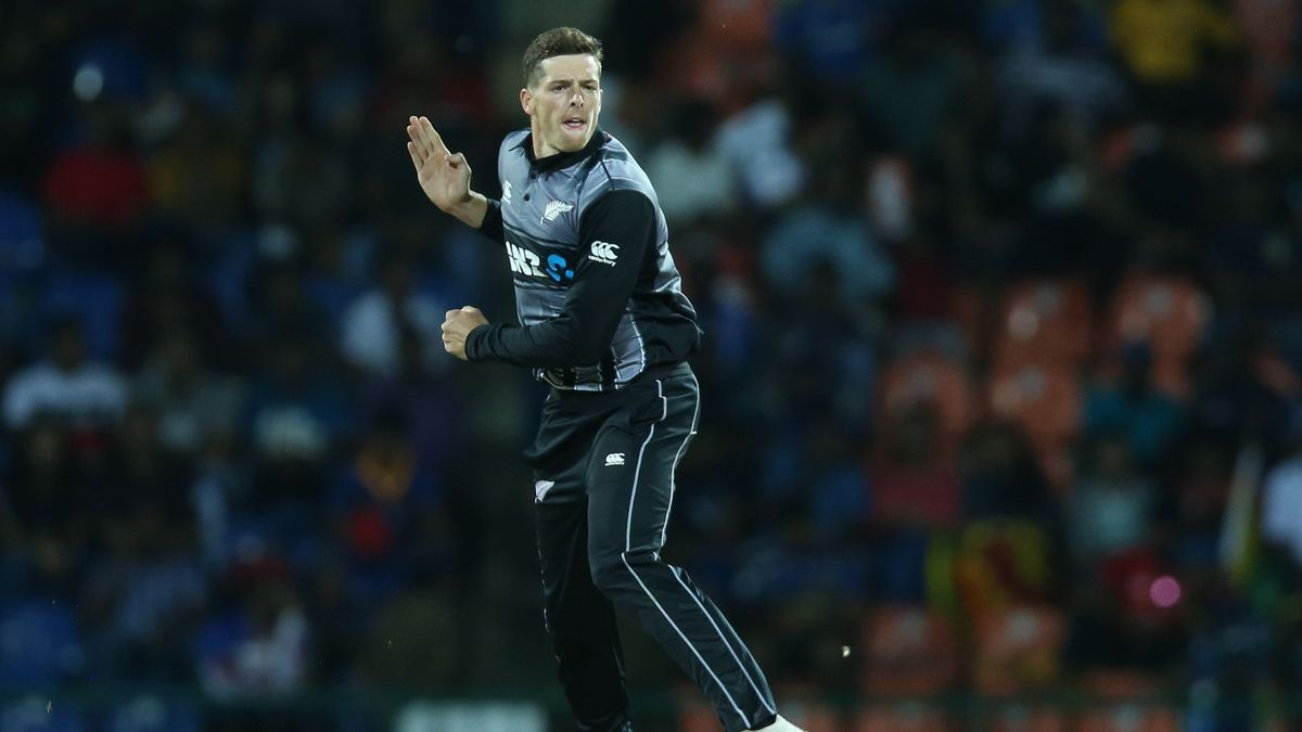 Mitchell Santner is the only player from The Hundred playing for New Zealand against England.
