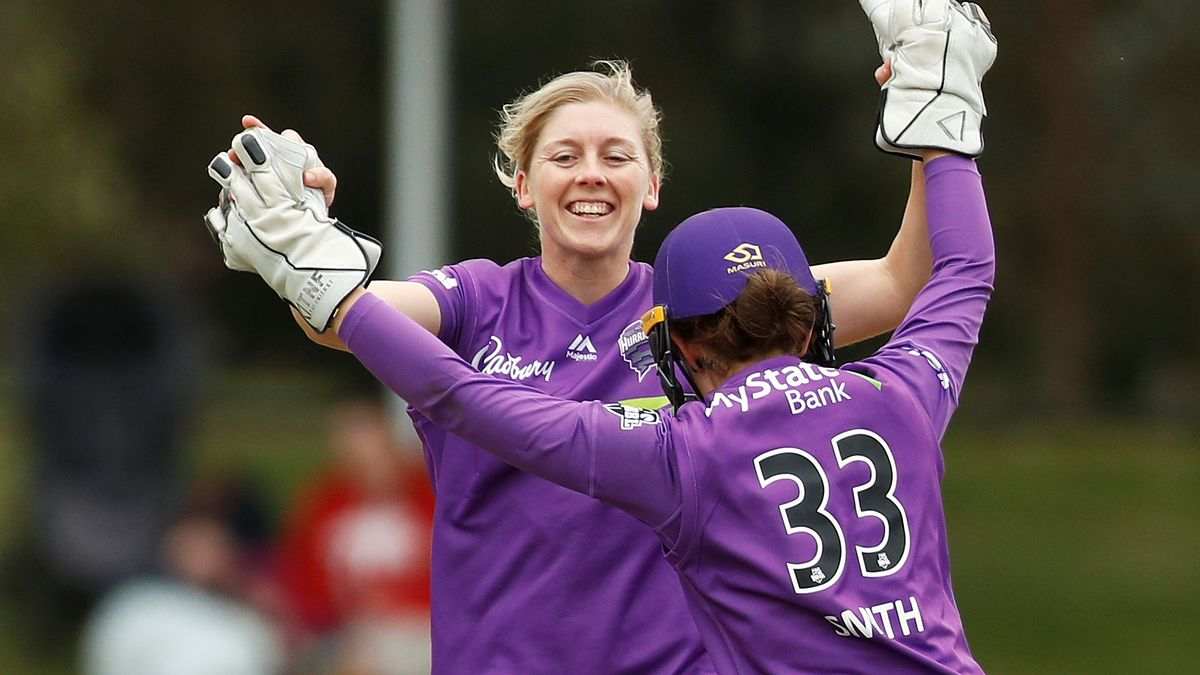 England's captain Heather Knight is with the Hobart Hurricanes.