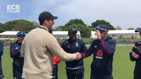 Sam Curran, Pat Brown and Lewis Gregory receive their IT20 caps