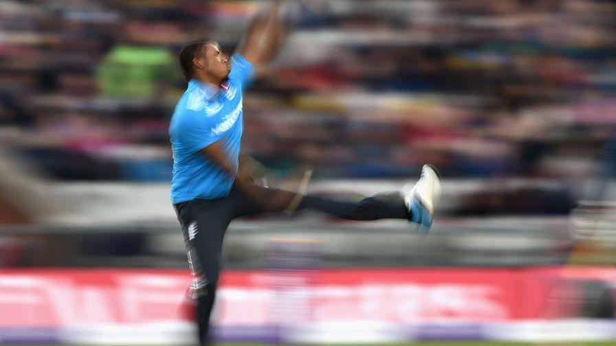 Sri Lanka 67 all out. Chris Jordan 5-29.