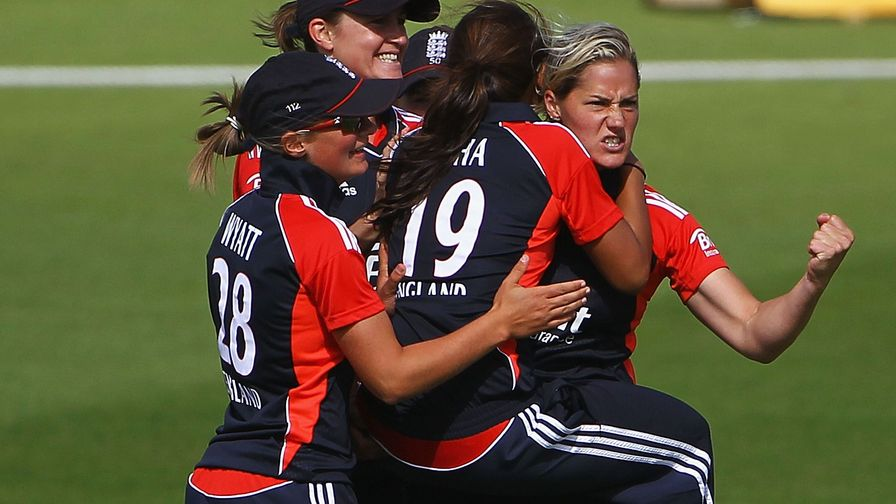 Brilliant Brunt. The England star bowls her side to victory over Australia taking 5-18.
