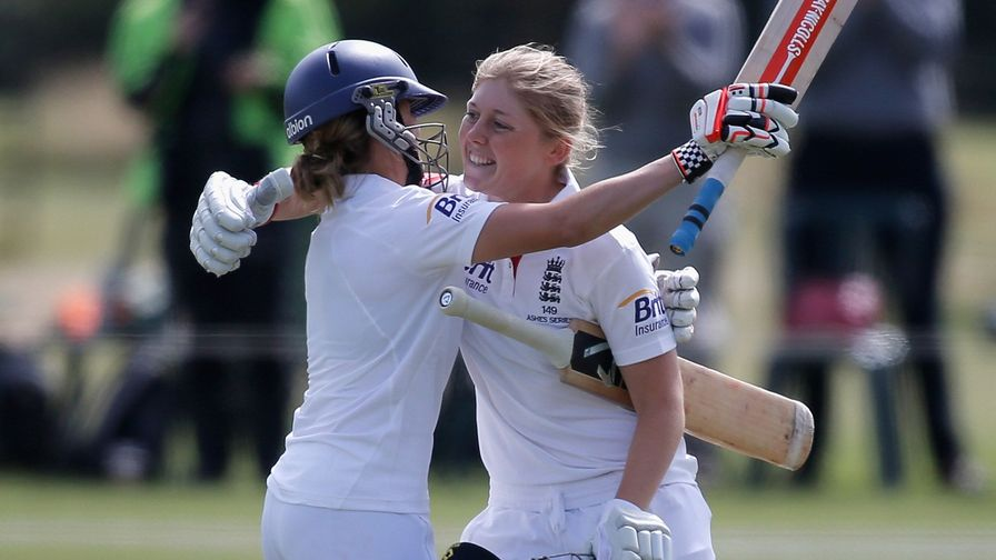 Heather Knight scores a determined 157 to help save the Ashes Test against Australia at Wormsley.