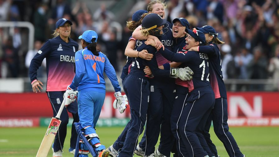 Staring defeat in the face, England stage a remarkable comeback to win the ICC Women's Cricket World Cup at Lord's.
