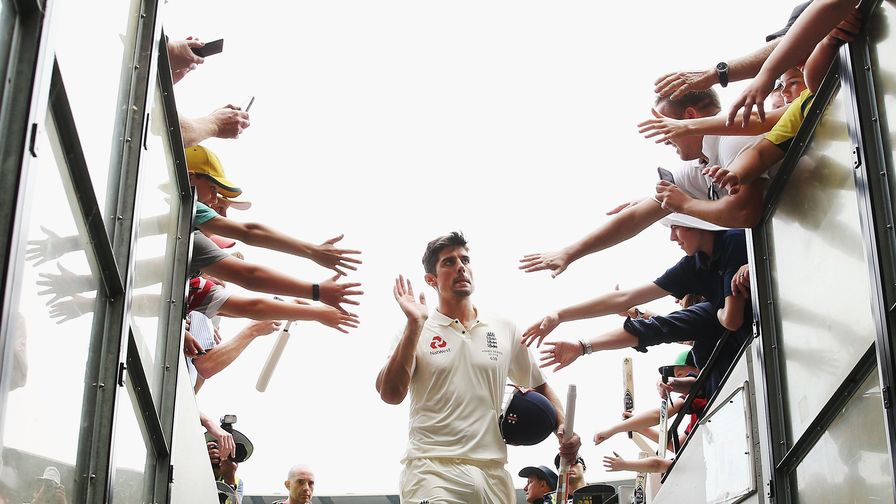 Form is temporary, class is permanent. Sir Alastair Cook hits 244* at the MCG during the Boxing Day Test.