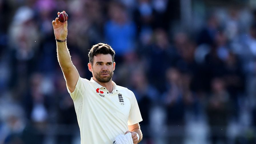 Oh Jimmy, Jimmy! Anderson becomes the first Englishman to take 500 Test wickets.