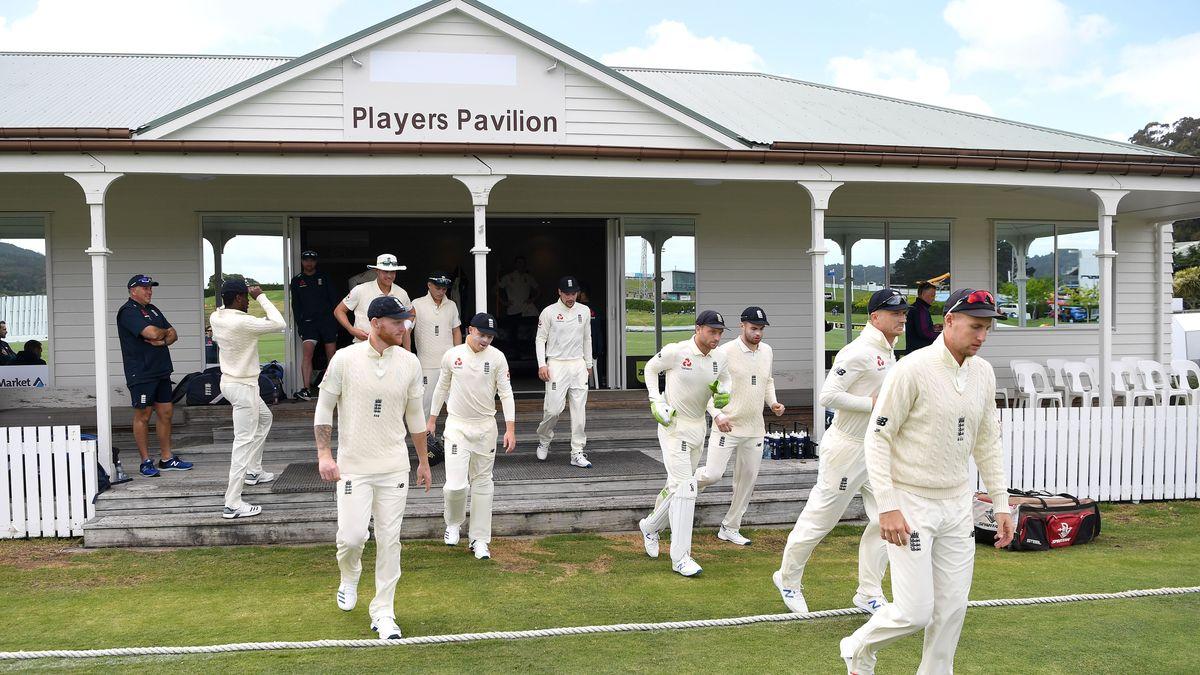 England take to the field in Whangarei