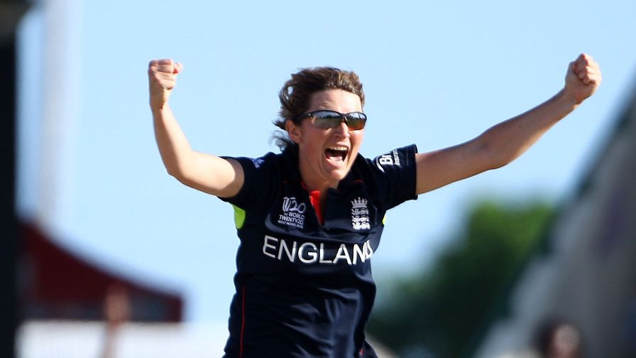 Charlotte Edwards makes her 142nd ODI appearance, a then all-time world record.