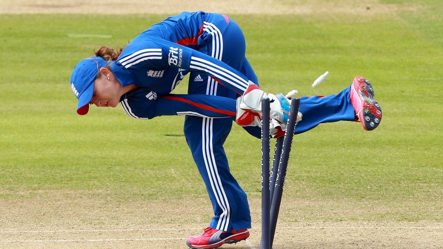 Sarah Taylor is named ICC IT20 Player of the Year. Scoring over 600 runs at an average of 44.