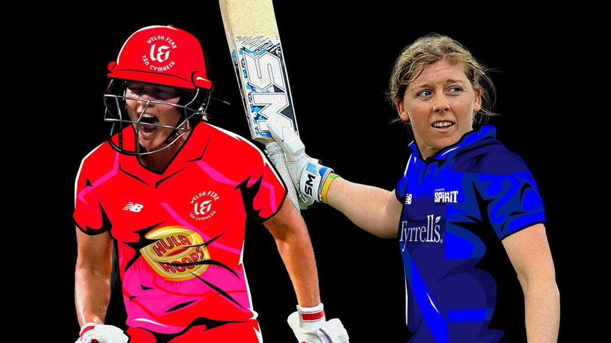 Australia captain Meg Lanning and England captain Heather Knight will play each other.