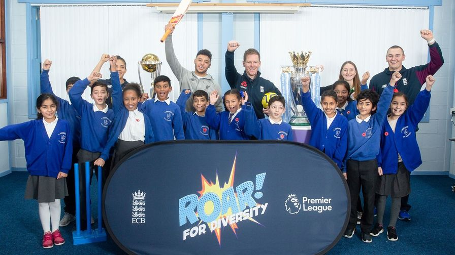 ECB and Premier League team up to launch 'Roar! for Diversity'