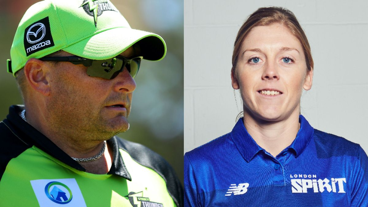 Trevor Griffin's first act as London Spirit women's Head Coach has been to appoint Heather Knight captain.